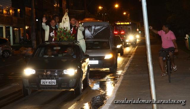 Abertura da Semana Missionária Mariana na Paróquia Santa Maria dos Pobres, em Paranoá – DF