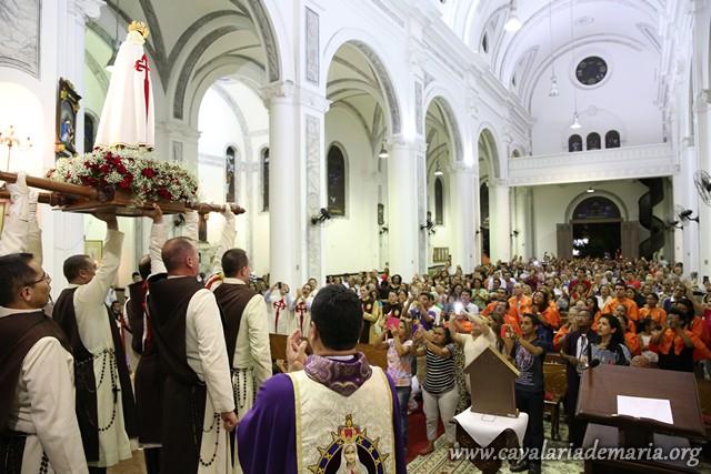 Em Belém – PA, na Paróquia São Francisco de Assis, encerramento da Semana Missionária