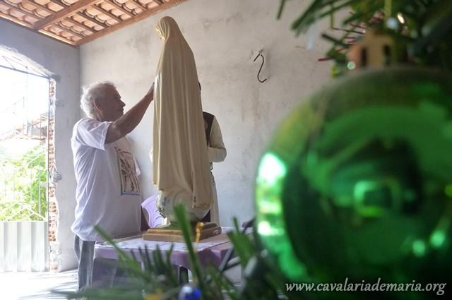Em Castanhal – PA, visitas da Imagem Peregrina