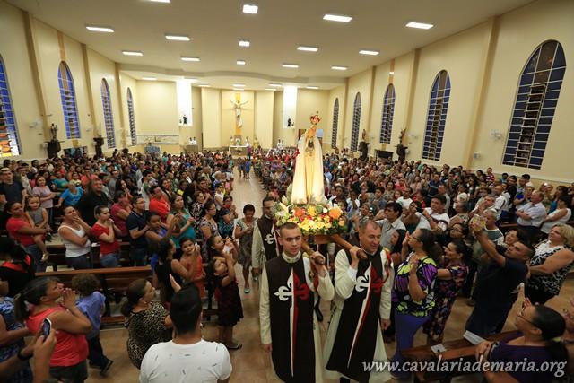 Em Sorocaba-SP, na Paróquia São Bento, encerramento de semana missionária