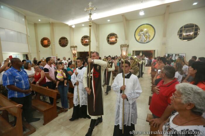 Em Brasília – DF, na Paróquia Santa Luzia de Samambaia, Missões para Cristo com Maria