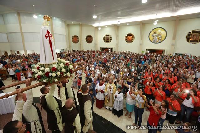 Em Brasília – DF, na Paróquia do Santuário Santa Luzia, encerramento de semana missionária
