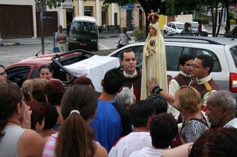 Abertura das Missões Marianas em Pereiras-SP