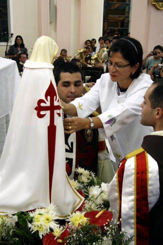 Missa de Encerramento das Missões Marianas em Pereiras-SP.