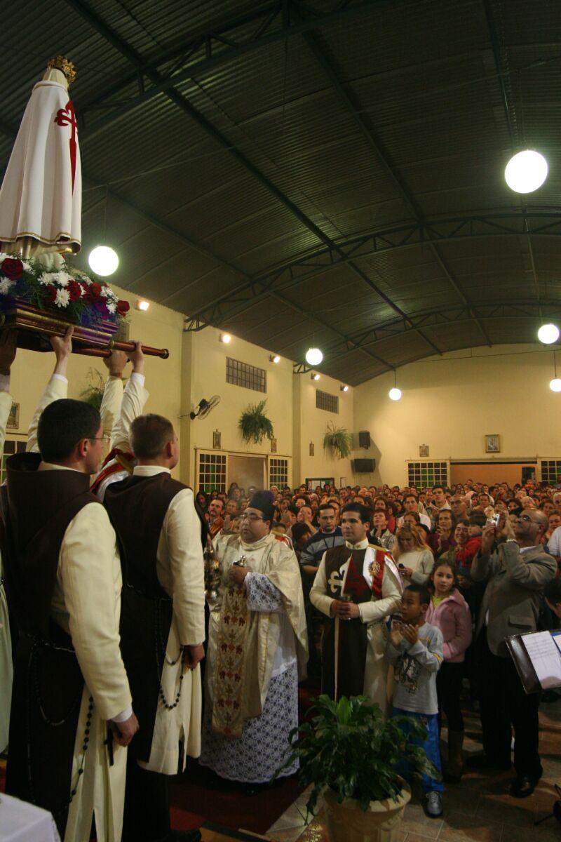 Coroação de Nossa Senhora em Botucatu