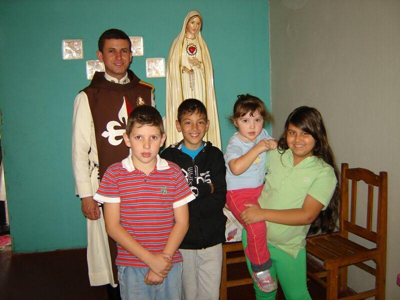 Visitação com Nossa Senhora de Fátima e Missa vespertina