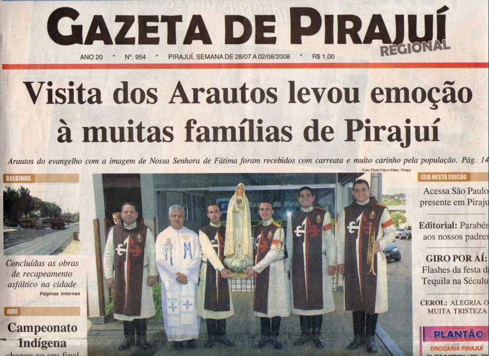 Imprensa local de Pirajuí – SP