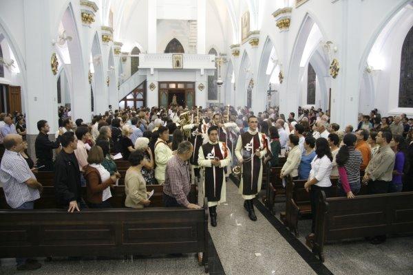 Encerramento das Missões Marianas no Santuário Nossa Senhora da Piedade.