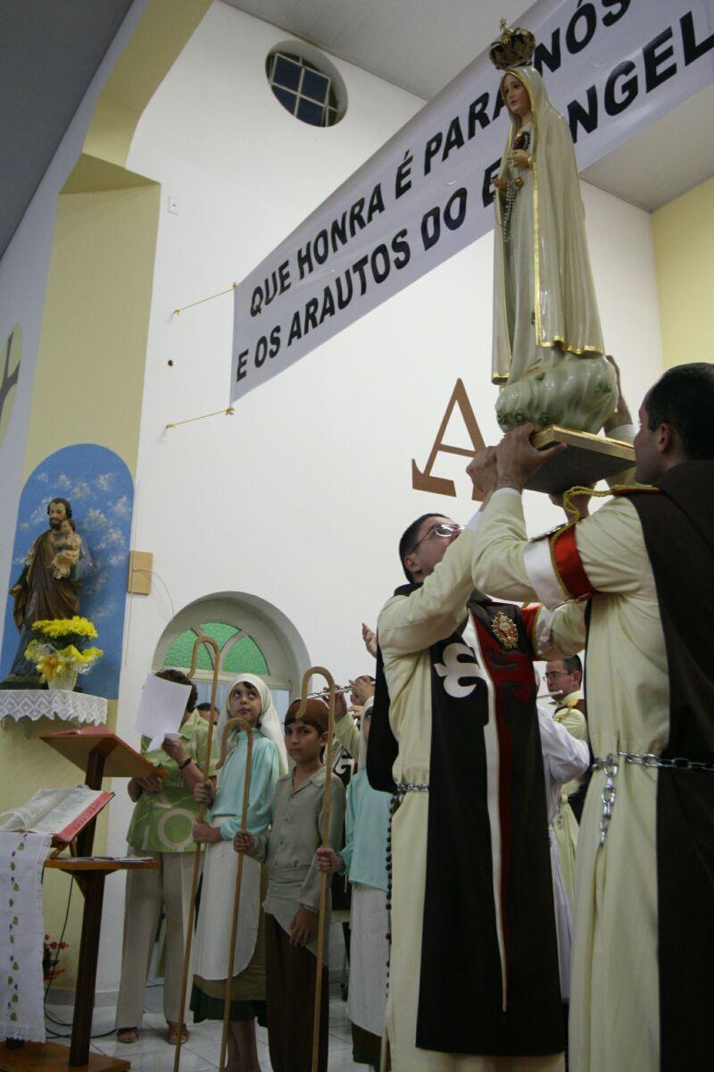 Nossa Senhora de Fátima é acolhida em Pongaí – SP