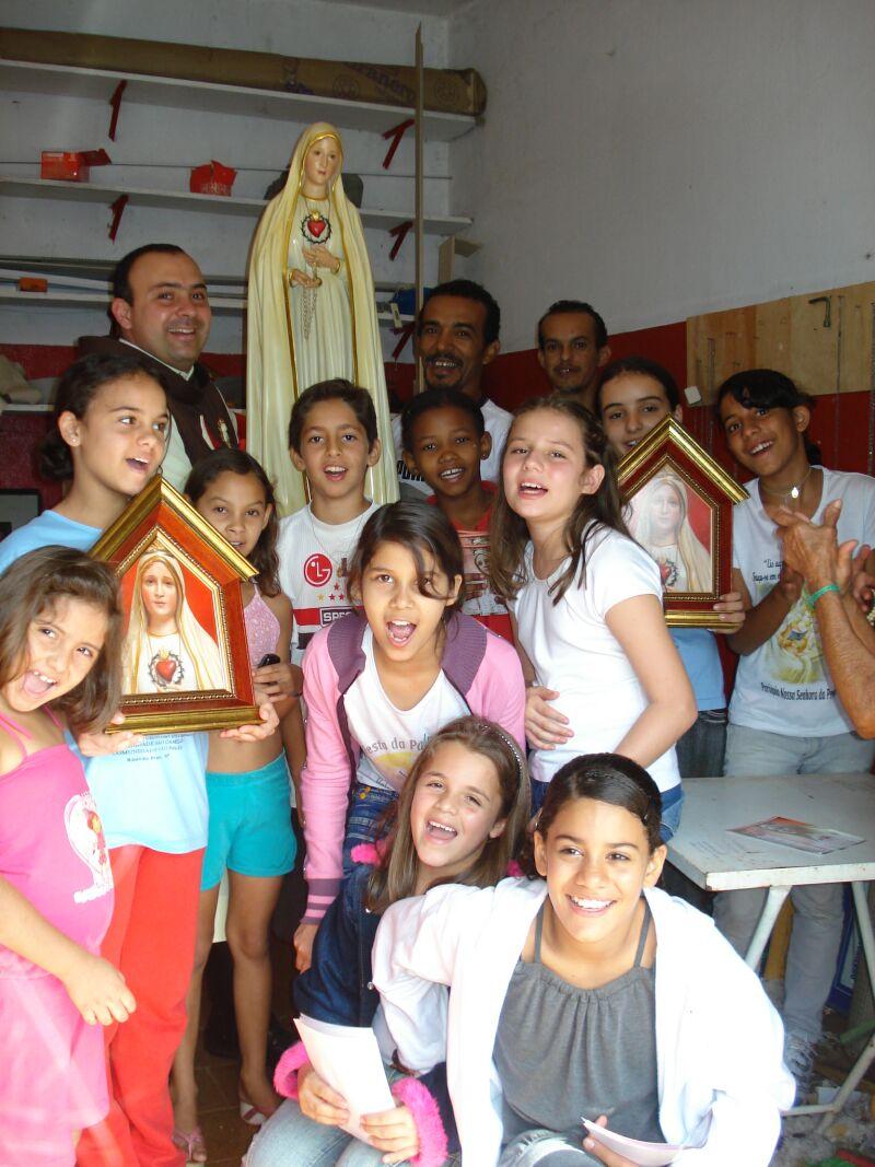 Crianças missionárias