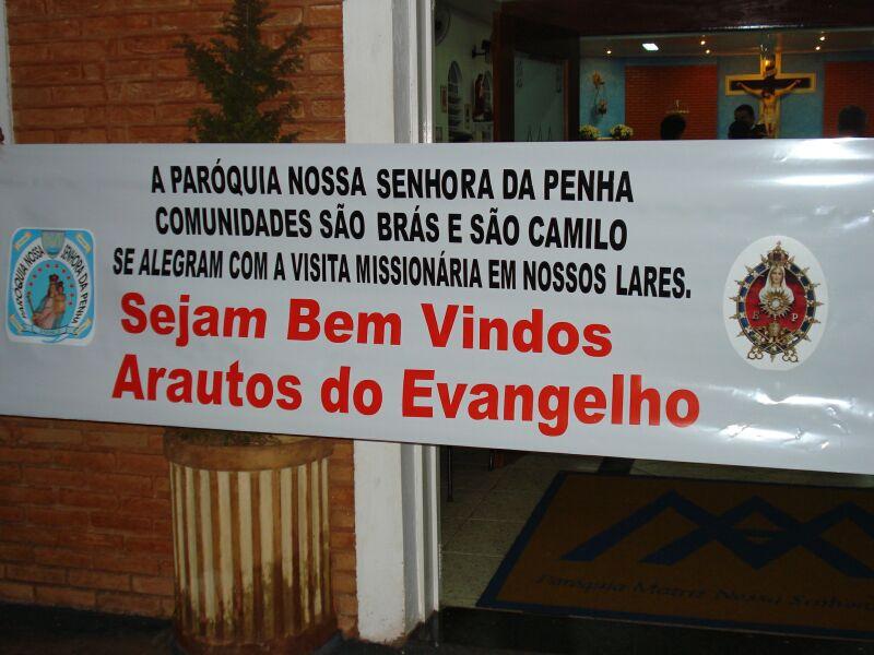 Abertura das Missões Marianas em Ribeirão Preto – SP