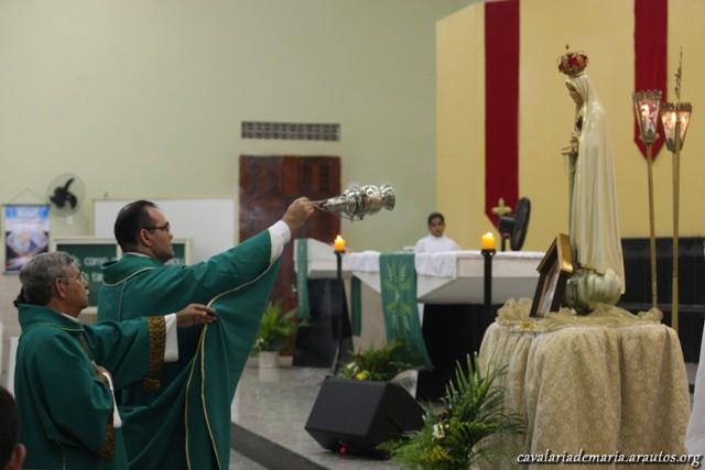 Missas durante a Missão na Paróquia Nossa Senhora de Salette em Fortaleza – CE