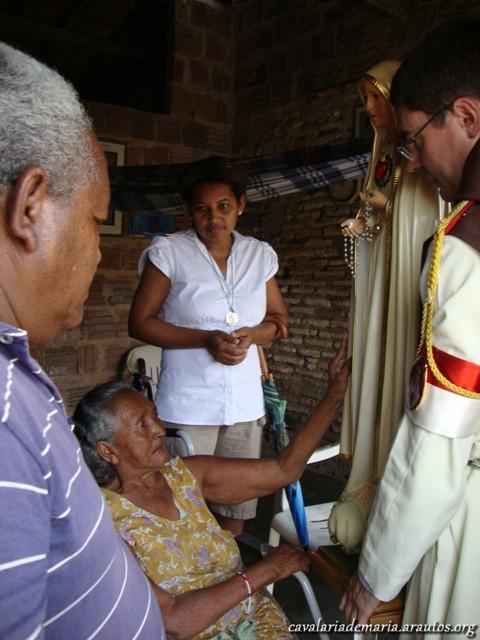 Algumas visitas nos primeiros dias de missão em Fortaleza – CE