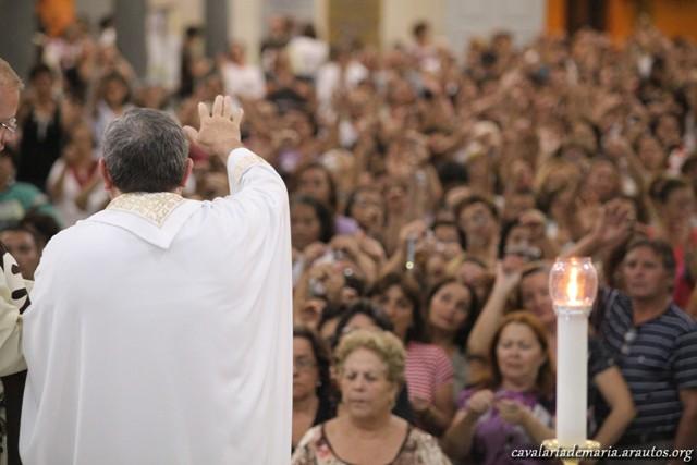 Missas durante a Missão na Paróquia de São João do Tauape em Fortaleza – CE