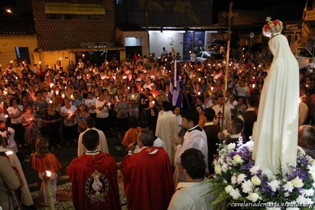 Procissão na Paróquia de São João Batista do Tauape em Fortaleza – CE
