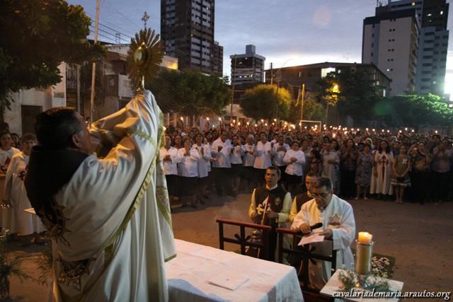 Corpus Christi na Paróquia Nossa Senhora da Paz em Fortaleza – CE