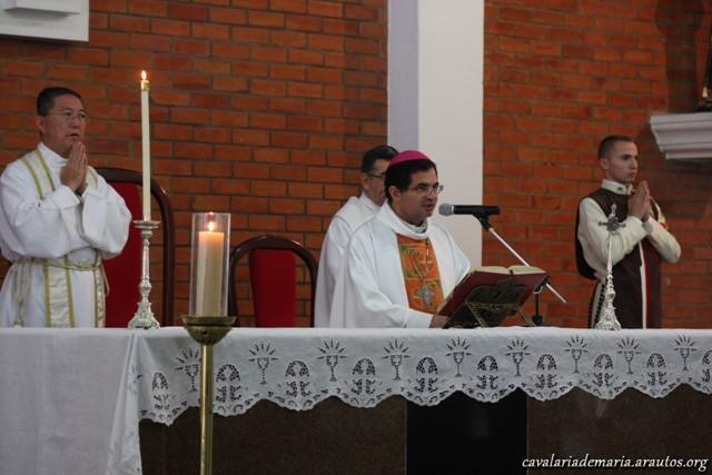 Missa matutina com Dom Rosalvo,na Paróquia Nossa Senhora da Paz em Fortaleza – CE