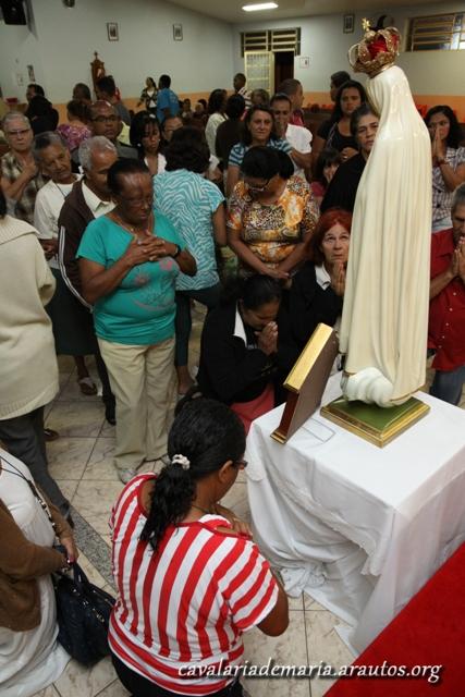 """""""Missões para Cristo com Maria"""" na Paróquia Nossa Senhora do Carmo, em Gama (DF)"""