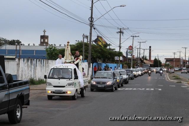 """Dando início a mais um ano missionário, """"Missões para Cristo com Maria"""" em Mococa – SP"""