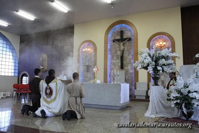 Santas Missas e outras atividades na Paróquia Santa Luzia, em Mococa – SP