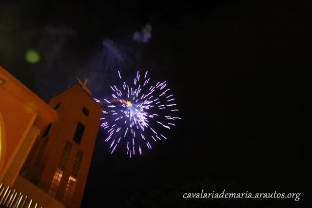 Procissão luminosa na Paróquia Santa Luzia, em Mococa – SP