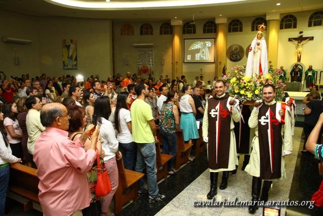 Encerramento da Semana Missionária Mariana na Paróquia Nossa Senhora do Rosário do Lago Sul, em Brasília – DF