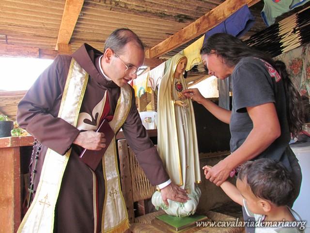 Visitas missionárias na Serra da Cantareira