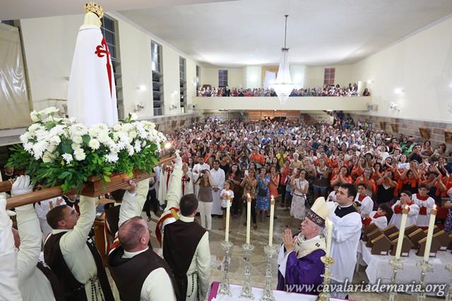 Em Juiz de Fora – MG, Dom Gil Antônio Moreira preside Santa Missa de encerramento das Missões para Cristo com Maria na Paróquia São Geraldo
