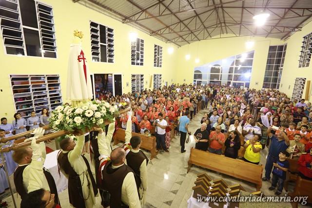 Encerramento das Missões Marianas na Paróquia São José de Anchieta, em Serra – ES
