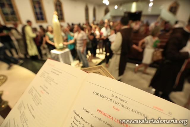 Em Sorocaba – SP, na Paróquia Nossa Senhora de Fátima, Missões para Cristo com Maria
