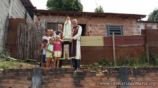 Em Cruzeiro – SP, Missões para Cristo com Maria na Paróquia Santa Rita de Cassia e São Sebastião
